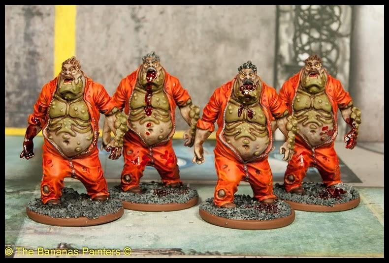 figurine zombicide peinte